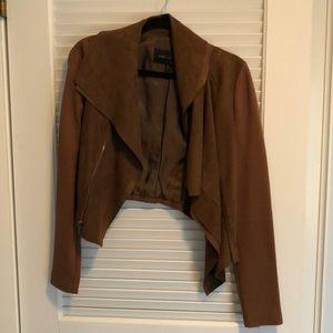 BCBGMaxAzria Jackets & Coats - Brown cropped bcbg jacket